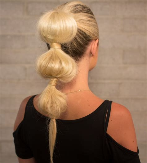hairstyle bubble back how to tutorial on the bubble pony confessions of a