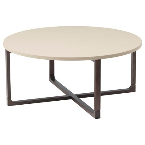 idea coffee table rissna coffee table beige 90 cm ikea