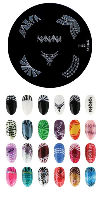 Plate M47 Konad Sting Nail 38 best images about konad nail designs on nail nailart and weather forecast