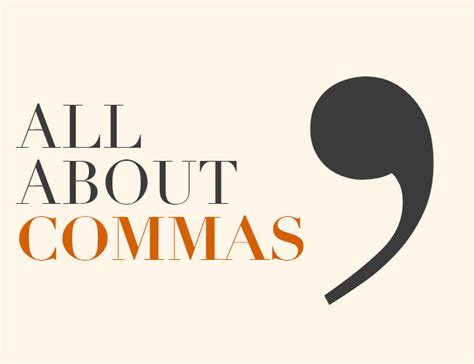 All About by All About Commas The Write Practice
