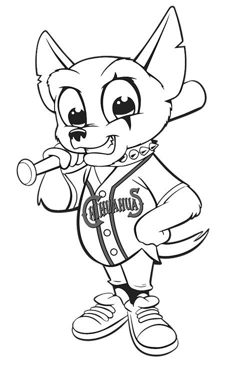 college mascot coloring pages cheerleader wildcat west