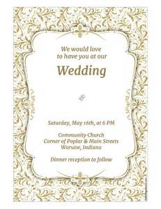 basic invitation template basic wedding invitation templat yaseen