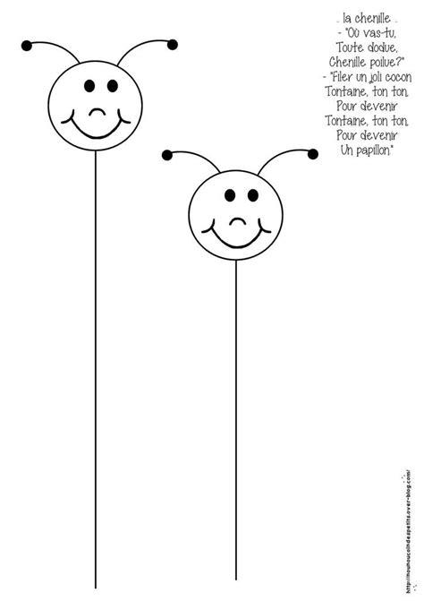 - Activité toute simple pour les petits, la chenille
