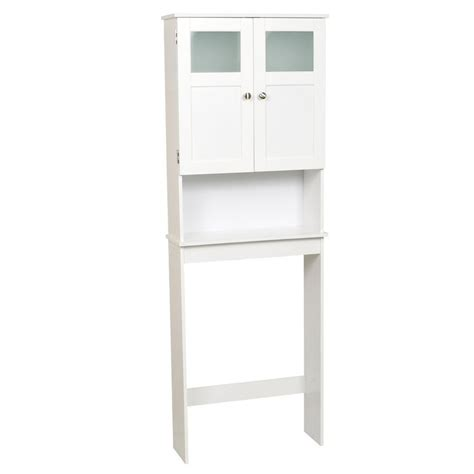 Zenith 71 In White Storage Cabinet Lowe S Canada Lowes Bathroom Storage