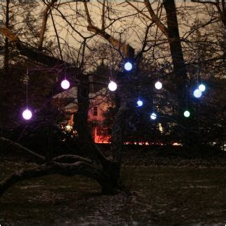 solar hanging tree lights all the garden decor pinterest