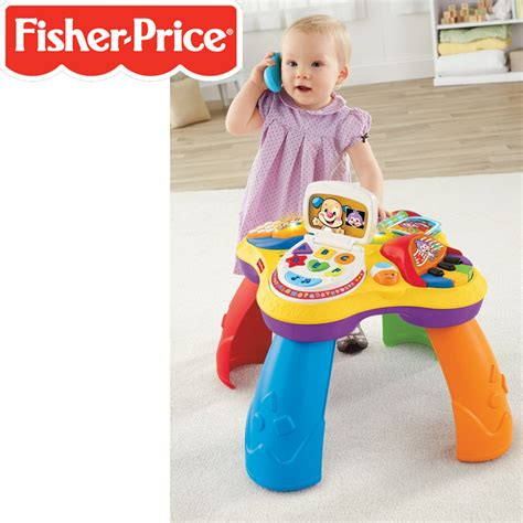 laugh learn table fisher price laugh learn puppy learning table