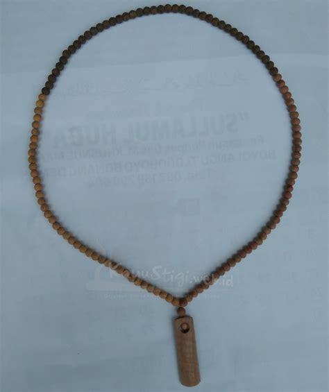 Kalung Kalung Pasangan Titanium 02 kalung liontin pasangan kayu stigi dewandaru kalimasada karimunjawa kayu stigi
