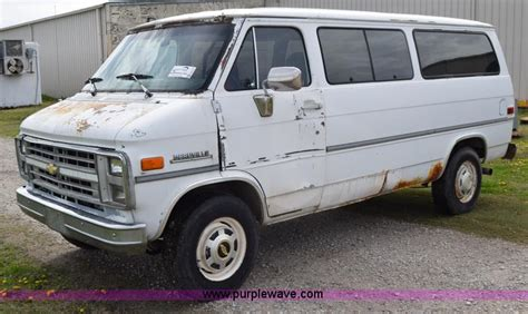 vehicle repair manual 1993 chevrolet sportvan g30 electronic valve timing 1989 chevrolet sport van g30 beauville van no reserve auction on tuesday may 05 2015
