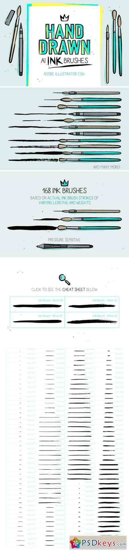 adobe illustrator cs6 brushes free download 168 illustrator ink brushes 514227 187 free download