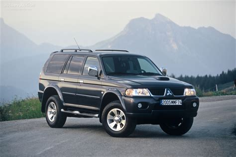 mitsubishi pajero sport 2005 2005 mitsubishi pajero sport pictures information and