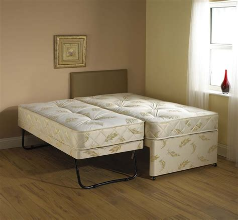 2 beds in 1 windsor white 3 in 1 guest bed pull out trundle with