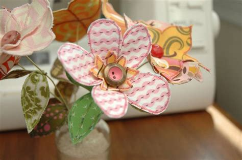 Fabric Handmade Flowers - 6 clever ways to deal with outgrown baby clothes inhabitots