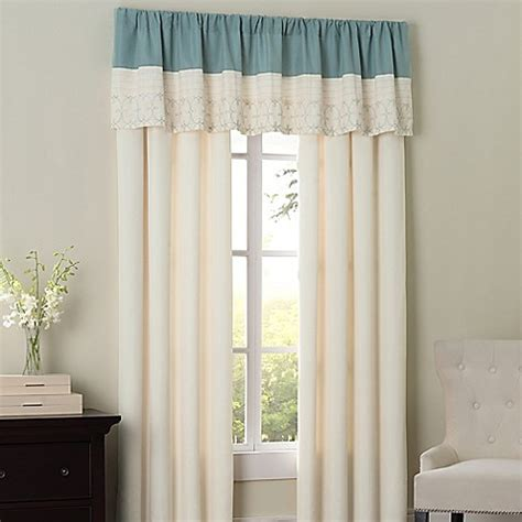 hathaway curtains hathaway window curtain panel pair and valance bed bath