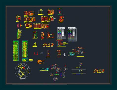 Floor Plans Symbols by Fire Fighting Dwg Detail For Autocad Designscad