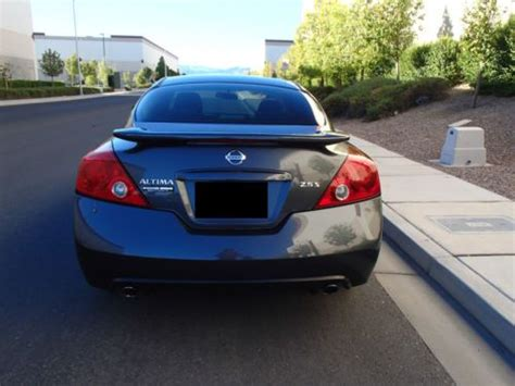 nissan altima 2 door sport sell used 2009 nissan altima s coupe 2 door 2 5l sport