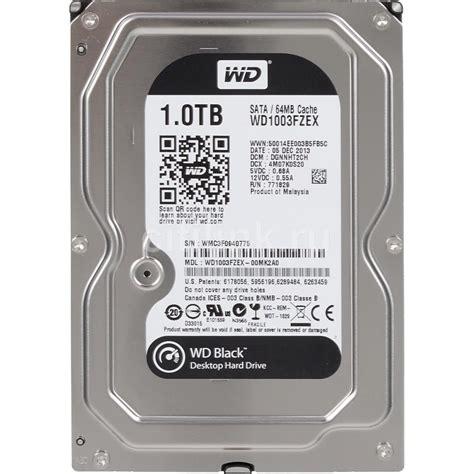 Hardisk Wd Black 1tb hd western digital caviar black wd1002faex 1tb 7200rpm