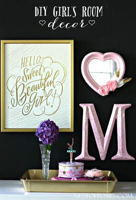 diy girly room decor how to decorate a girly bedroom