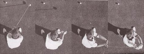overhead view of golf swing aerial view of classic golf swings 171 persimmon golf today