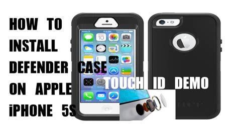 Iphone 5s Giveaway International - how to install otterbox defender series case for iphone 5s does the finger print