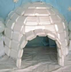 How To Make An Igloo Out Of Paper - the world s catalog of ideas