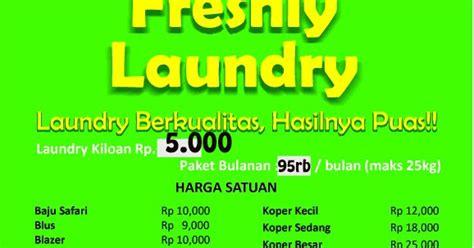Laundry Karpet Permadani freshly laundry cirebon dartar harga laundry kiloan