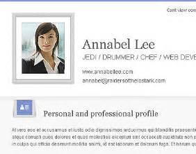 Free Personal Profile Template by Cvfolio Cv Resume Portfolio Email Newsletter Template Flickr