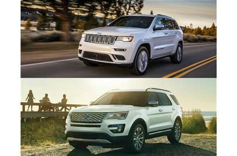 2017 jeep grand vs 2017 ford explorer to