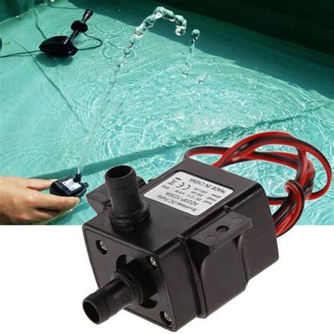 New Headl Lu Motor Led 2 Sisi Mini 2sisi Mata Utama 12v 3 6w mini dc brushless garden hydrological cycle submersible water at