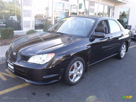black subaru 2007 2007 obsidian black pearl subaru impreza 2 5i sedan