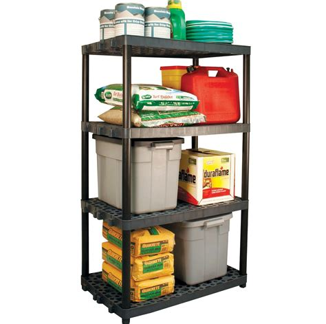 walmart garage shelving plano 5 shelf 18x36in grey walmart