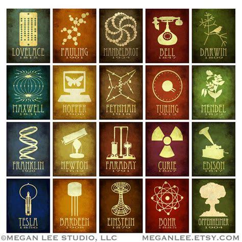 design art science rock star scientist posters retrohelix com