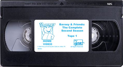 barney and the backyard gang the complete series image barney friends the complete second season tape 1 png custom barney episode