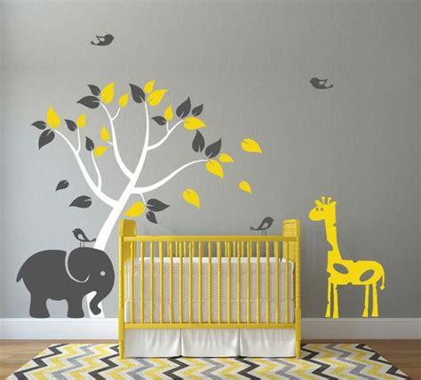 Giraffe Wall Decals For Nursery Best 25 Baby Giraffe Nursery Ideas On Animal Theme Nursery Jungle Nursery And