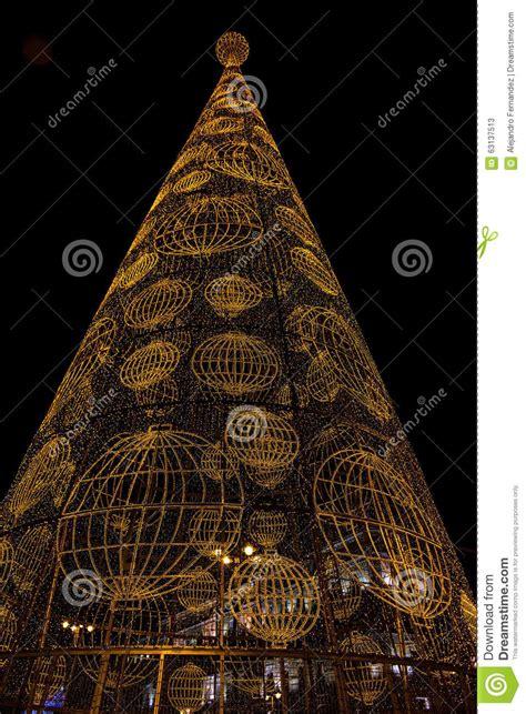 tree made of lights tree made of lights stock photo image 63137513