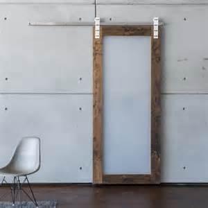 Modern acrylic sliding barn door 849 00 all barn doors are made from