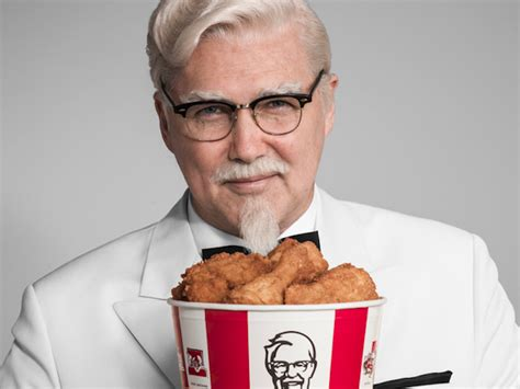 celebrity ceo definition the men kfc hires to play colonel sanders share uncanny
