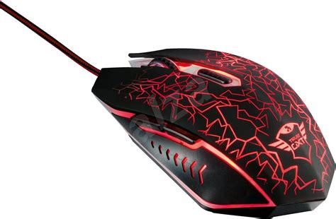 trust gxt  izza illuminated gaming mouse gaming mouse