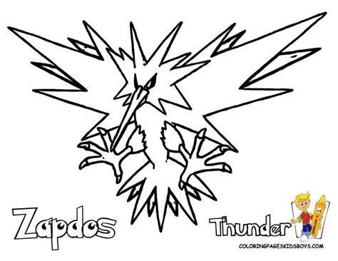 pokemon coloring pages articuno pokemon coloring pages zapdos bebo pandco