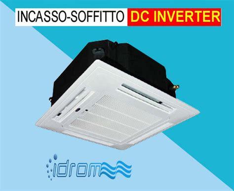 condizionatori da soffitto climatizzatore da incasso per soffitto monofase class aa r410a