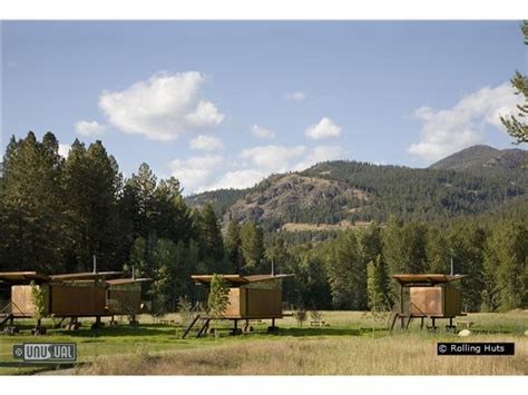 Rolling Cabins by Rolling Huts Designer Cabins In Winthrop Washington