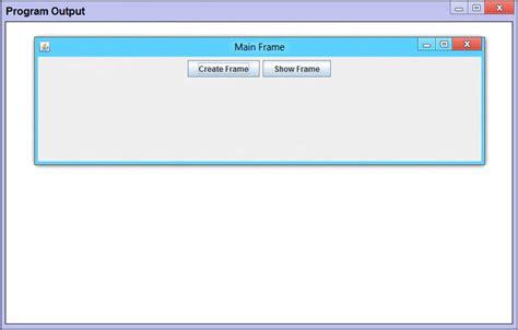 java swing setvisible jframe hide on close java swing java tutorial
