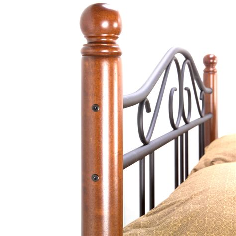 Wood And Iron Headboard by Twi Fb Weston Hb 3 Jpg