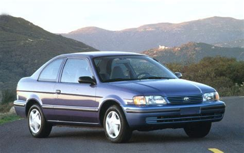maintenance schedule for 1998 toyota tercel openbay