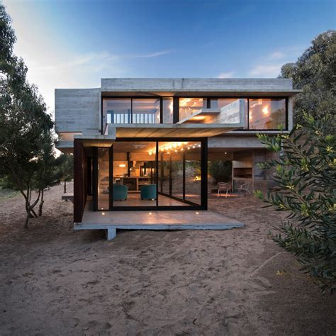 holiday house designs luciano kruk designs a concrete holiday home in argentina