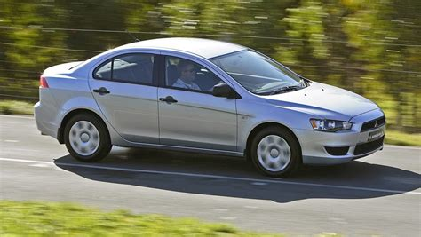 used mitsubishi lancers used mitsubishi lancer review 2007 2013 carsguide