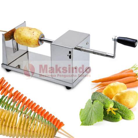 Spiral Potato Slicer Alat Pengiris Kentang mesin kentang spiral twist potato toko mesin maksindo