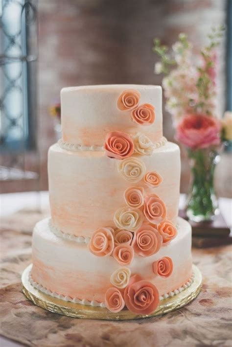 hochzeitstorte lachsfarben feast your on these 21 jaw dropping ombre cakes