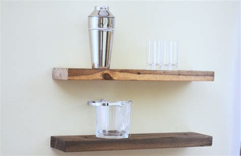 Wood Ledge Shelf by Floating Shelf Rustic Floating Shelf Ledge Shelf Wooden