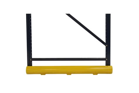 end of aisle low profile rack protector phs safety