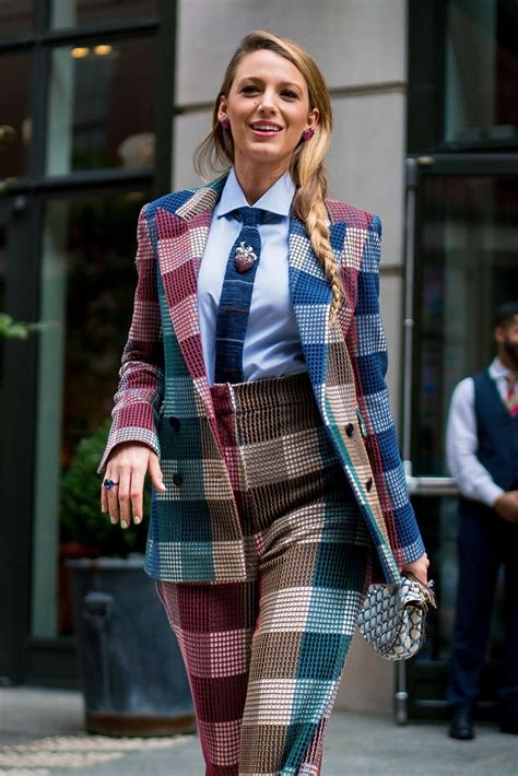 blake lively style  simple favor press